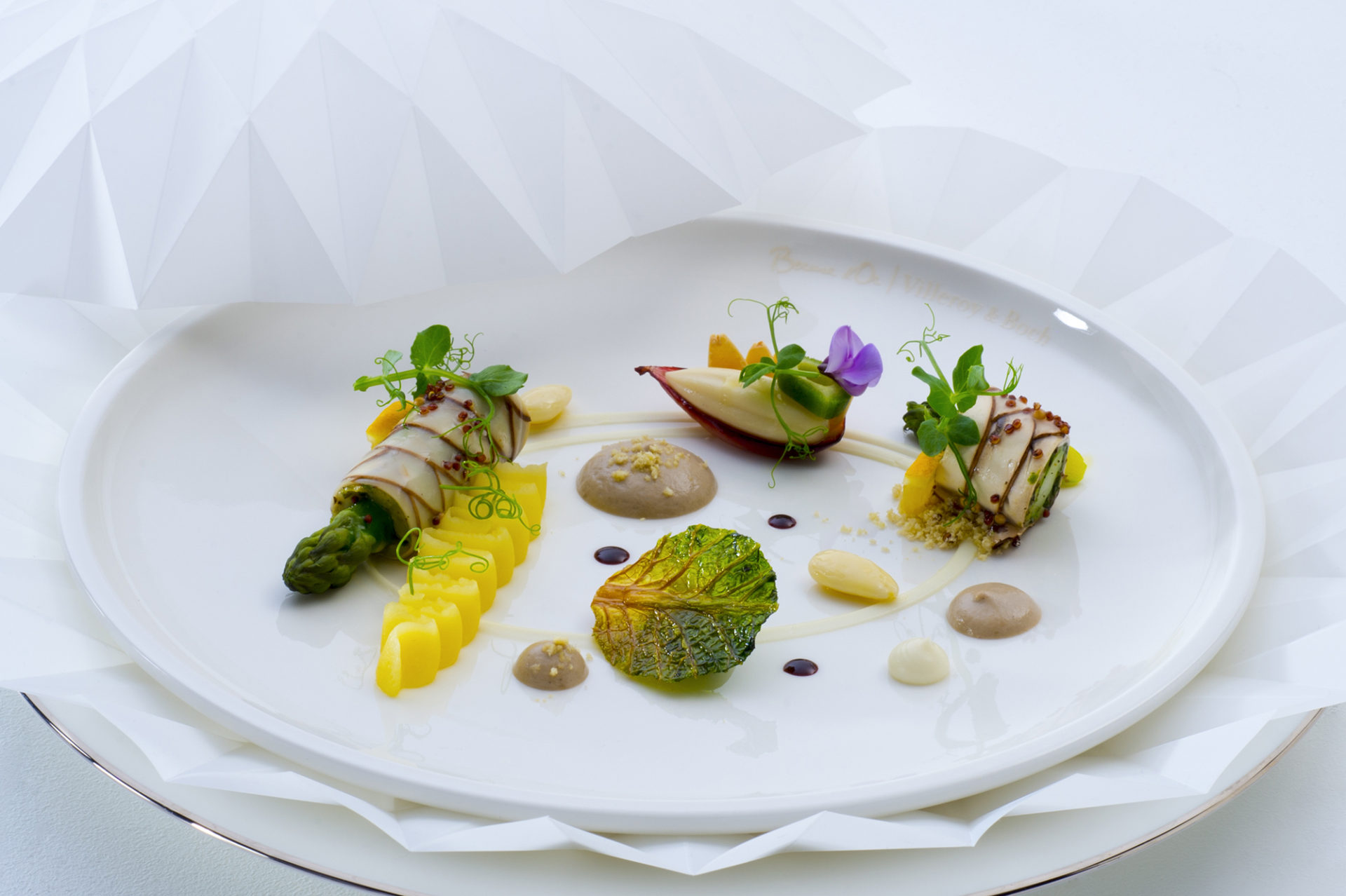 Chefs from the US won the Bocuse d'Or in 2017. Theme on a vegetal plate. Copyright: Le Fotographe. Courtesy of AB3C.