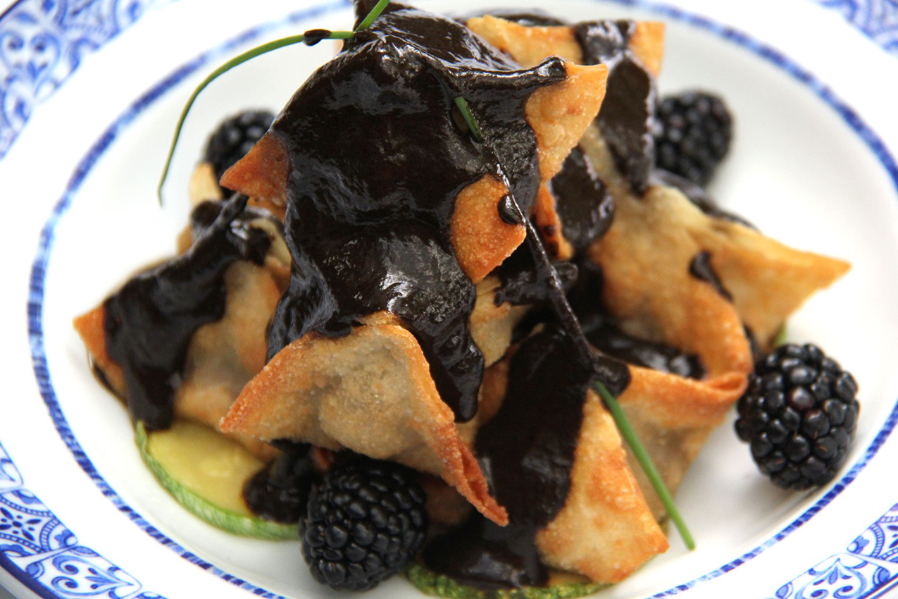 The moles made from chilhuacle are complex, smokey, and subtle sauces, says chef Ricardo Muñoz Zurita. Photo courtesy of Ricardo Muñoz Zurita, Azul restaurants.