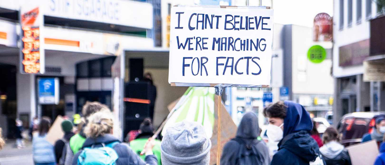 People marching for - Fridays For Future Bonn, 2021-03-19